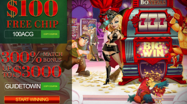 BoVegas $100 FREE! No Deposit Bonus - American Casino Bonuses